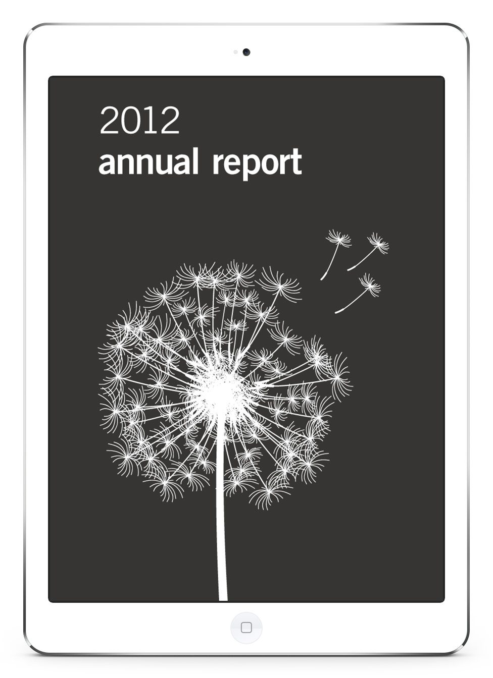 dunnhumby Annual Report App Home Page