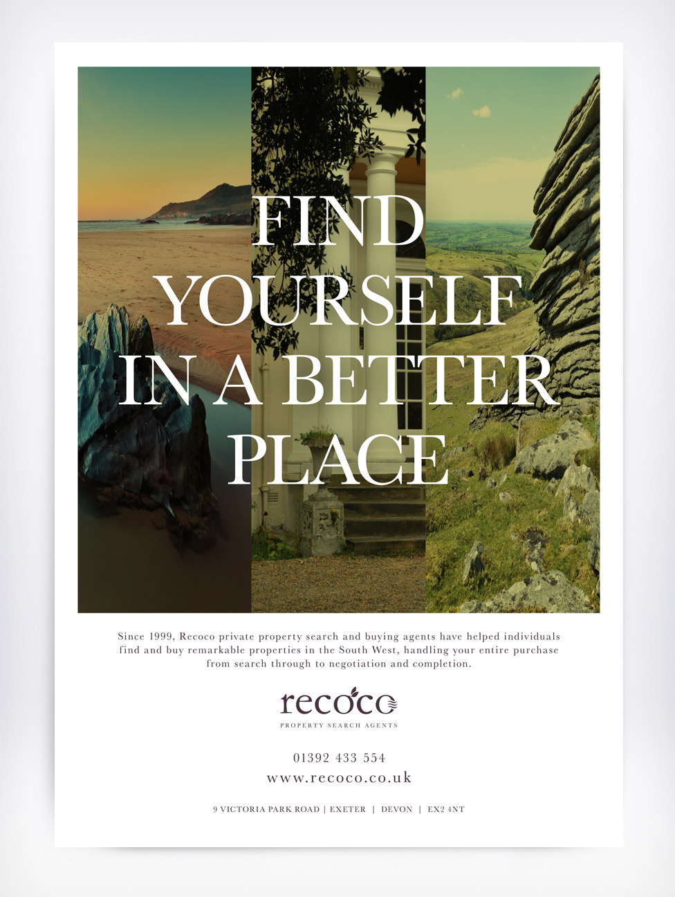 Recoco Full Page Devon Life Advert