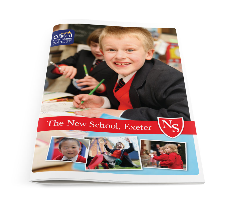 New School Prospectus Cover