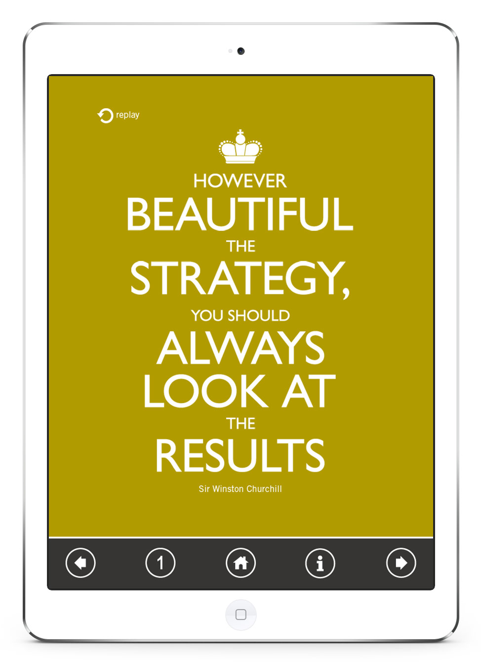 dunnhumby Annual Report App Game Screen