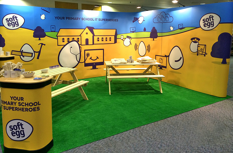 Soft Egg Exhibition Stand