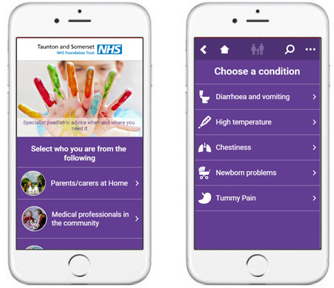 Technical Health NHS Taunton and Somerset Handi App
