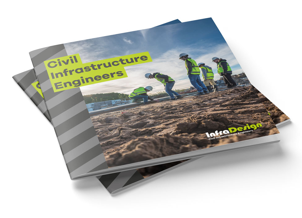 InfraDesign Civil Engineering Brochure Cover